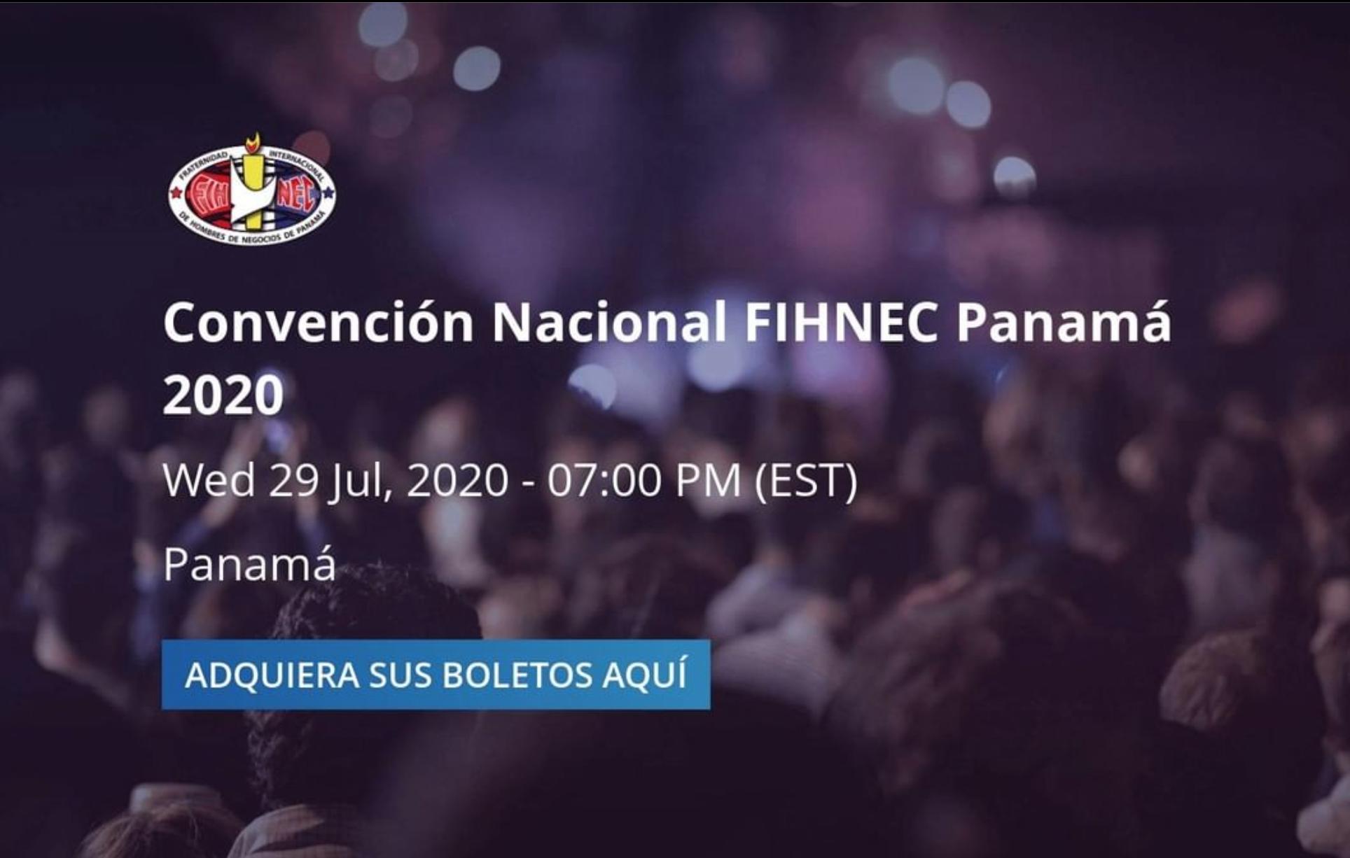 Convención Nacional 2020 - Invitación
